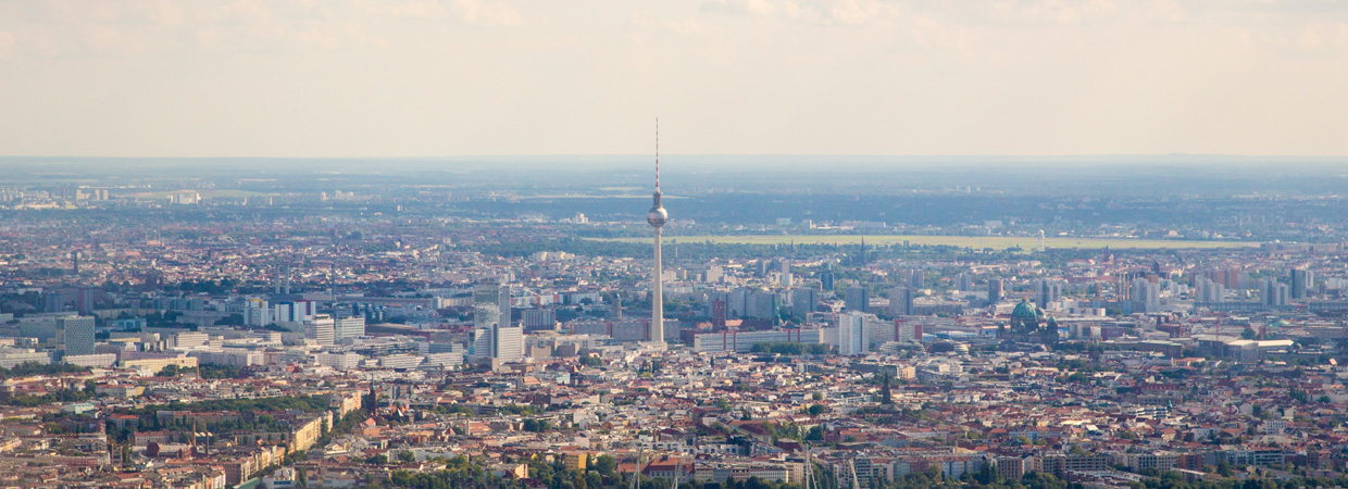 Berlin Panorama with the TV-Tower